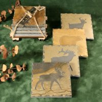 Quarry Coaster Set: Wildlife