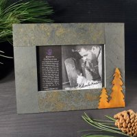 4x6 Rustic Photo Frame: Trees