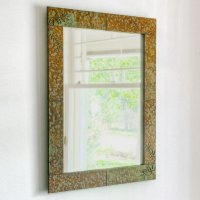 Cottage Wall Mirror: Fern