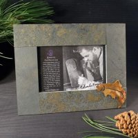 4x6 Rustic Photo Frame: Trout