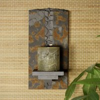 Natura Wall Sconce: River Rock