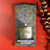Candle Wall Sconce: Leaf 2