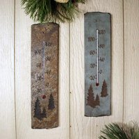Flatiron Thermometer: Trees