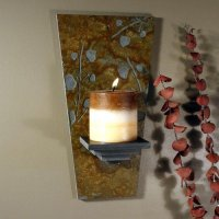 Wall Candle Sconce: Aspens