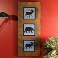 Wall Art Trio: Wildlife