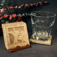 Petite Coaster Set: Hummingbird