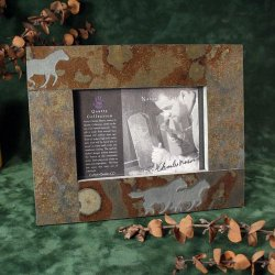 4x6 Picture Frame: Mustangs - Horses
