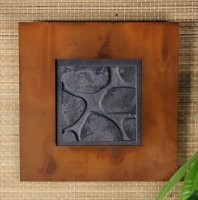 Wall Art Single: River Rock: Patina