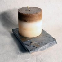 Coaster Candle Plate: Fly Fisherman