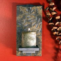 Candle Wall Sconce: Fern