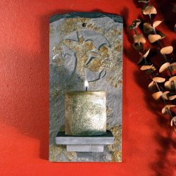 Candle Wall Sconce: Hummingbird 2