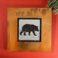 Wall Art Single: Bear
