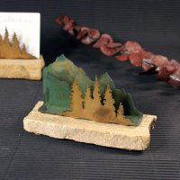 Business Card Holder: Trees