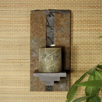 Natura Wall Sconce: Baked Earth