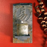Candle Wall Sconce: Simplicity
