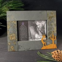 4x6 Rustic Photo Frame: Kokopelli