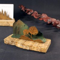 Business Card Holder: Leaf 2