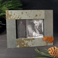 4x6 Rustic Photo Frame: Leaf 2