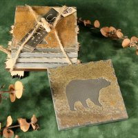 Quarry Coaster Set: Bear