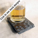 Coaster Candle Plate